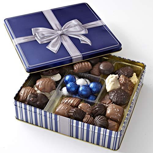 Holiday Chocolate Gift Box – Hanukkah – Gourmet Gift Basket Prime – Assortment .
