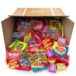 Halloween Assorted Candy Party Mix Bulk Twizzlers Nerds Swedish Fish Sour Patch Skittles Starbur ...