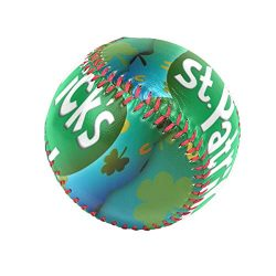 Baseballs Happy St Patrick's Day Baseball Ball for League Play/Practice/Gifts