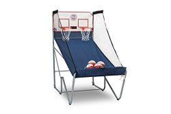 Pop-A-Shot Official Home Dual Shot Basketball Arcade Game – 10 Individual Games – Durable Constr ...