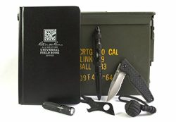 Acme Crate Black EDC 50mm Ammo Can Gift Set