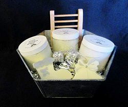 Large Holiday Organic Bath Gift Basket