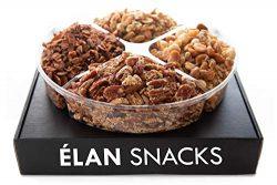 ELAN Holiday Gourmet Nut Blend Gift Box | Keto, Gluten Free, Grain Free, Vegan, Diabetic Diet Fr ...
