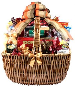 Gift Basket Village A Cut Above Fall Cheese and Sausage Gift Basket, XL