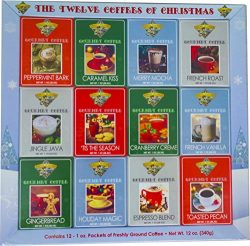 Christmas Coffee Gift Gourmet Gift Box Set or Sampler – Best Xmas Holiday Present For Frie ...