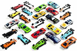 Neliblu Bulk Pack Toy Cars Diecast Car Set Assorted Styles – Exciting Party Favor Cars for ...