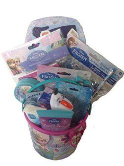 Disney Frozen 5″ Bucket of Fun Gift Set Featuring Elsa and Anna