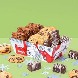 David's Cookies – Freshly Baked Goods In Holiday Gift Basket – Includes Brownies, Chocolate Chun ...