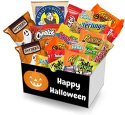 Halloween survival care package | All Hallows Eve candy gift – halloween goodies