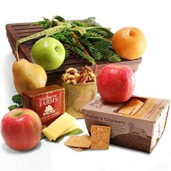 Manhattan Fruitier Classic Fruit, Cheese & Nut Gift Basket