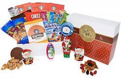 Christmas Gift Basket Care Package Snack Box for Men, Women,Kids, Children, Grandchildren, Boys, ...
