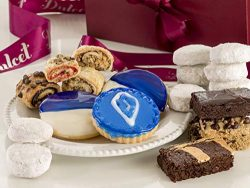 Dulcet Gift Baskets Hanukkah Collection Gift Set – Gourmet Pastry Gift Basket Filled Assorted Fr ...
