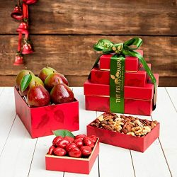 Pearfully Yours Mini Gift Tower – The Fruit Company