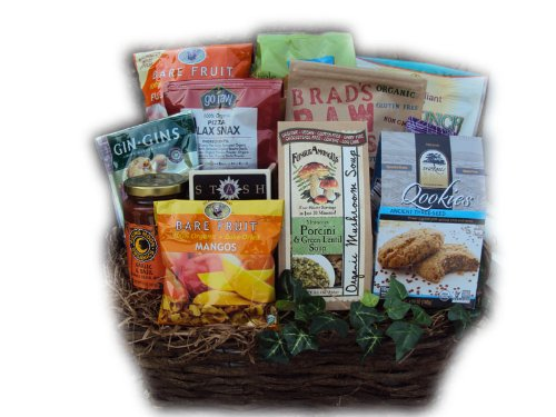 Organic Get Well Gift Basket – Cancer Patient by Well Baskets
