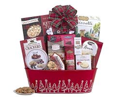 Remarkable Gift Co. Home For The Holidays Grand Gourmet Gift Basket