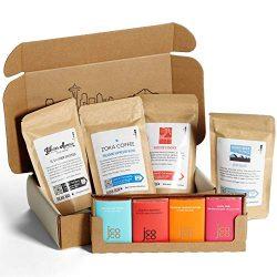 Bean Box – Coffee + Chocolate Gift Box – Whole Bean