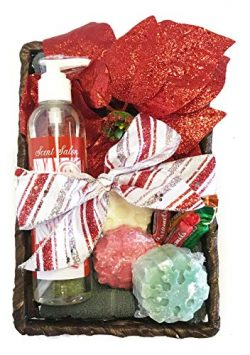 Holiday Soap Set – Christmas Gift Set – Hand Mixed Soap, Hand Towel, Hand Poured Wax ...