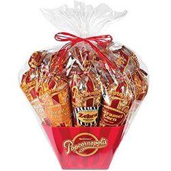 7-Cone Variety Popcorn Gift Basket, Gluten Free – Caramel, Kettle, Zebra, Snickerdoodle, C ...