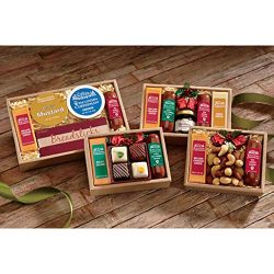 Cheddar Cheese, Brick Cheese, Garlic Sausage, Beef Sausage & Strawberry Jam Sampler from Wis ...