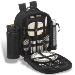 Picnic at Ascot – Deluxe Equipped 2 Person Picnic Backpack with Coffee Service, Cooler &am ...