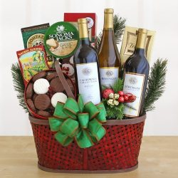 Wine and Country Food Gift Baskets