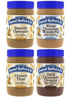 Peanut Butter & Co. Top Sellers Variety Pack, Non-GMO Project Verified, Gluten Free, Vegan,  ...