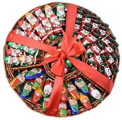 Christmas Gift Basket – Great Variety – Madelaine Chocolate Tray for Family, Friends ...