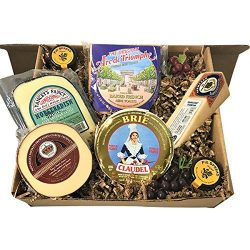 Christmas Cheese Sampler Gift | Holiday Baskets | Client Gifts