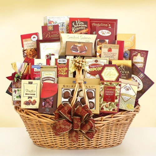 Holy Elegance | Gourmet Holiday Gift Basket by Organic Stores