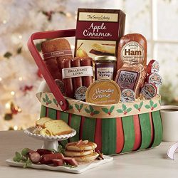 Holly Breakfast Basket from The Swiss Colony