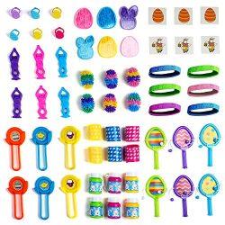 Neliblu Mega Easter Toy Novelty Assortment; Bulk Small Toys Perfect for Easter Egg Fillers, East ...