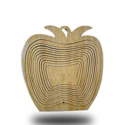 Creative Boutique Bamboo Fruit Basket for the New Year Christmas Gifts to Family and Friends(A-2)