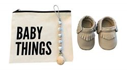 for Boys, Girls, Unisex | 5-Piece Baby Gifts for Newborns, Infants, 1 Year Olds | Including Mocc ...
