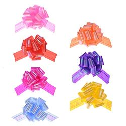 Gaiatop Pull Bows, Pack of 7 Beautiful Festival Presents Wrap Bows Gift Wrapping Decoration Bask ...