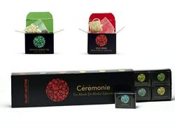 Tea Gift Collection, Ceremonie Tea, Premium Variety Gourmet Sampler Pack. 12 Individually Wrappe ...