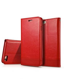 iPhone 8 Case, iPhone 7 Wallet Case,Crosspace Flip PU Leather Protective Shell Magnetic Folio Bo ...