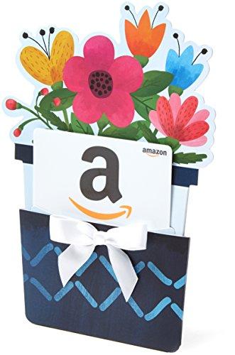 amazon gift card in a flower pot reveal  ubaskets