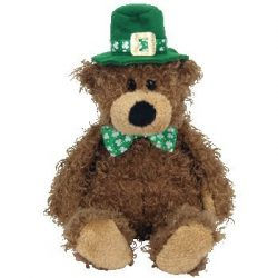 Ty Beanie Babies Lucky O'Day – Irish Bear