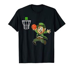 Funny Leprechaun Basket T-shirt St Patricks Day Shirts Gift
