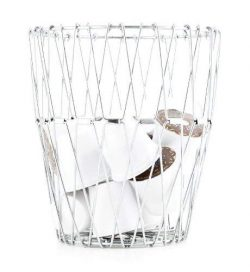 Big Christmas Gift Foldable Stainless Steel Wire Fruit & Vegetable Basket for Kitchen Storag ...