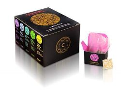 Variety Sampler Gourmet Gift Pack, by Ceremonie Tea. A Collection Organized in 10 Assorted Sampl ...