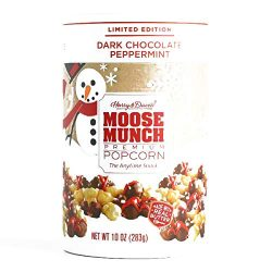 Harry & David Dark Chocolate Peppermint Moose Munch Popcorn 10 oz each (1 Item Per Order, no ...