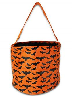 Easter Halloween Candy Basket Bucket Gift Bag Bags for Girls or Boys Baseball (Bat)