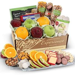 GourmetGiftBaskets.com Holiday Fruit Basket – Gourmet Gift Baskets Prime – Christmas ...
