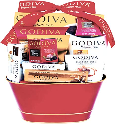 Godiva Chocolatier DELUXE Gift Basket – New 2018 Assortments (11 Count)