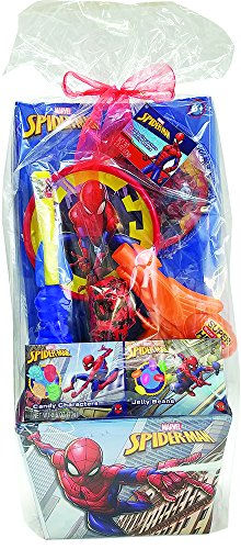 Frankford Candy Company Spider Man Easter Basket Jelly Beans, 2.6 Ounce