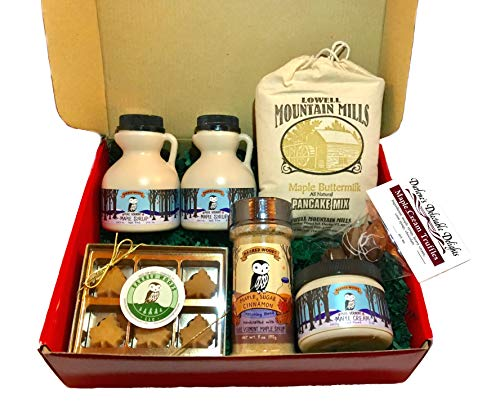 Deluxe Vermont Maple Syrup Gift Box – From Barred Woods Maple Products