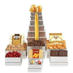 California Delicious Shimmering Gourmet Gift Tower