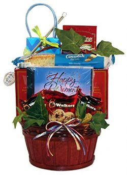 Gift Basket Village Happy Retirement, A Retirement Gift Basket To Celebrate The End Of A Career, ...
