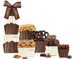 Deluxe Rocky Mountain Chocolate Gift Tower